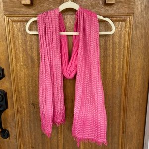 American Eagle | Hot Pink Scarf/Wrap